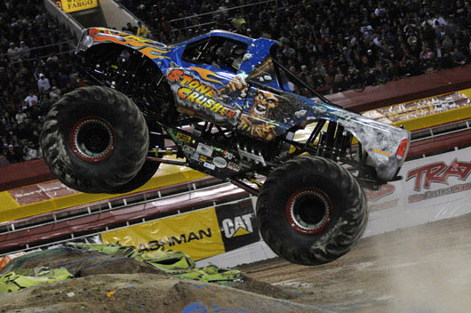 Stone Crusher Tears Up Sam Boyd Stadium in the World Finals