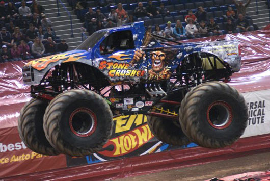 Stone Crusher - Hartford - Monster Jam - Steve Sims