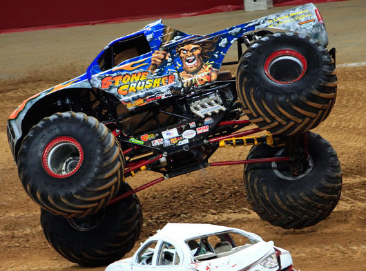 Stone Crusher - St. Louis - Monster Jam - Steve Sims