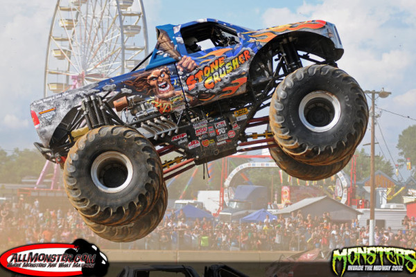 Fredericksburg, Virginia – Monsters Invade The Midway – July 29, 2012