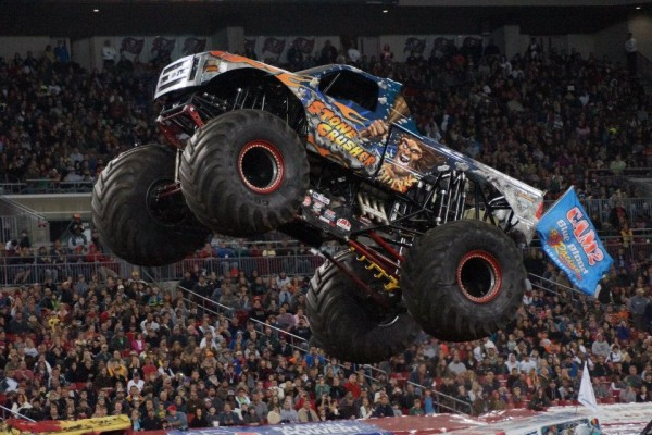 Stone Crusher - Tampa Monster Jam 2013