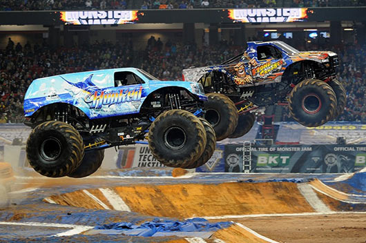 Stone Crusher in Atlanta for Round Two of Monster Jam Fox Sports 1 Championship Series