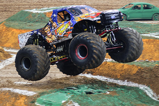 Rough Start to Monster Jam Fox Sports 1 Championship Series for Stone Crusher