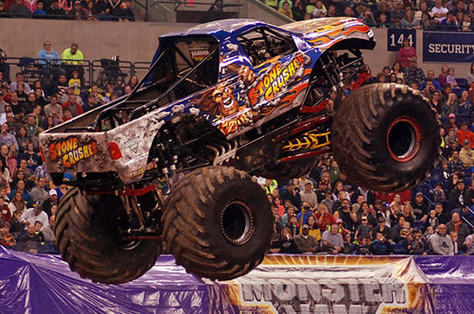 Stone Crusher Scoring in Indy | Round 4: Monster Jam Fox Sports 1 Championship Series