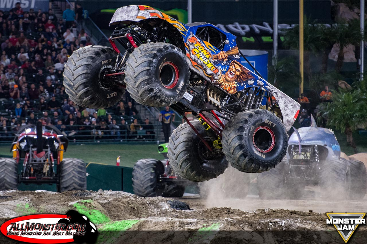 Anaheim, California - Monster Jam - January 13, 2018 - Stone