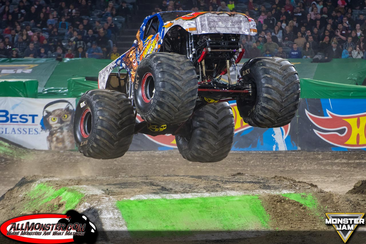 Anaheim, California - Monster Jam - January 27, 2018 - Stone